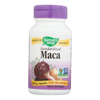 Nature's Way - Maca Standardized - 60 Capsules