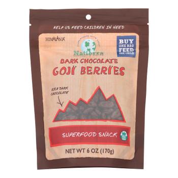 Himalania Goji Berries - Dark Chocolate - Case Of 12 - 6 Oz.