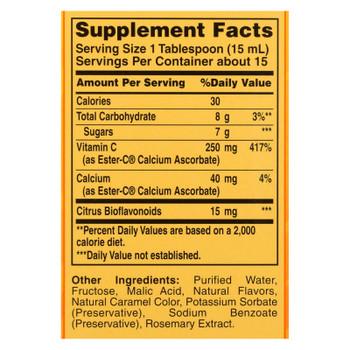 American Health - Ester-c With Citrus Bioflavonoids Berry - 250 Mg - 8 Fl Oz