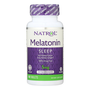 Natrol Melatonin Time Release - 5 Mg - 100 Tablets