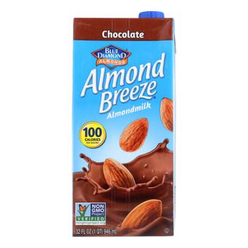 Almond Breeze - Almond Milk - Chocolate - Case Of 12 - 32 Fl Oz.