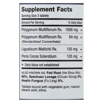 Dr. Shen's Shou Wu Youthful Hair Pill - 700 Mg - 200 Tablets