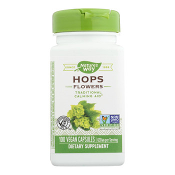 Nature's Way - Hops Flowers - 100 Capsules