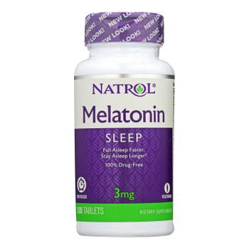 Natrol Melatonin Time Release - 3 Mg - 100 Tablets