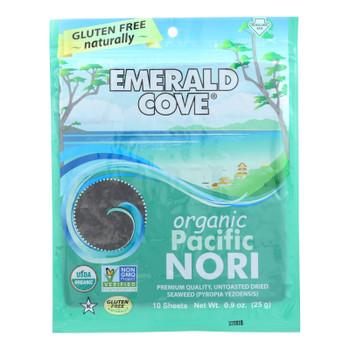 Emerald Cove Organic Pacific Nori - Untoasted Hoshi - Silver Grade - .9 Oz - Case Of 6