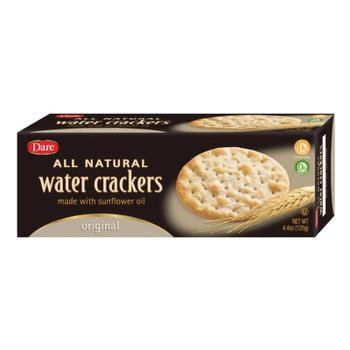 Dare Crackers - Water Crackers Original - Case Of 12 - 4.4 Oz.
