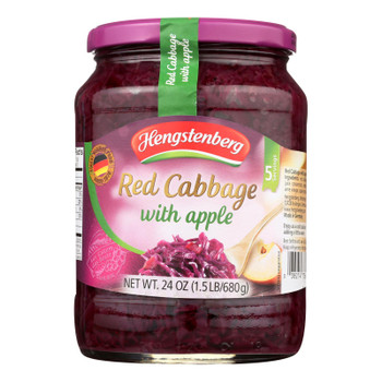 Hengstenberg Red Cabbage With Apple - Case Of 12 - 24.3 Oz.