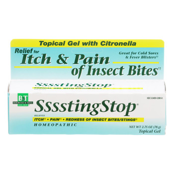 Boericke And Tafel - Ssssting Stop Topical Gel - 2.75 Oz
