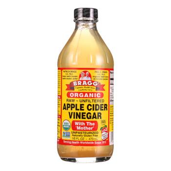Bragg - Apple Cider Vinegar - Organic - Raw - Unfiltered - 16 Oz - 1 Each