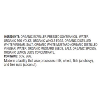 Woodstock Organic Mayonnaise - Case Of 12 - 32 Oz