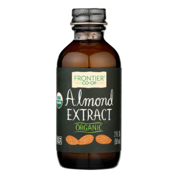 Frontier Herb Almond Extract - Organic - 2 Oz