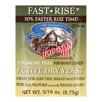 Hodgson Mills Baking - Yeast - Fast Rise - Case Of 48 - .35 Oz
