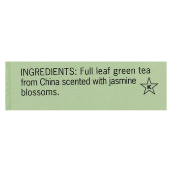 Smith Teamaker Green Tea - Jasmine Silver Top - 15 Bags