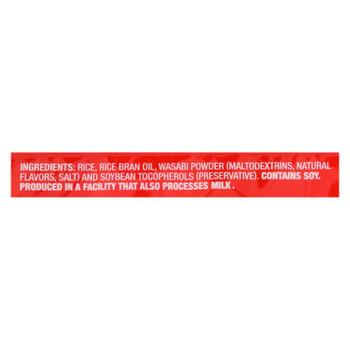 Kame Rice Crackers - Wasabi - 3.5 Oz - Case Of 12