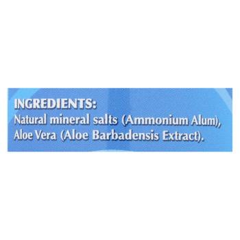 Naturally Fresh Crystal Deodorant With Aloe Vera - 4.25 Oz