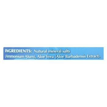Naturally Fresh Crystal Deodorant - Fragrance Free - 3 Oz