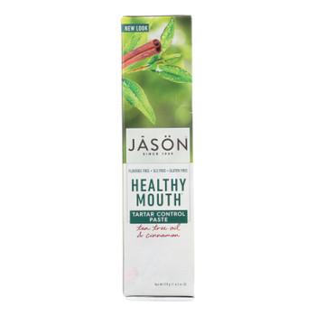 Jason Healthy Mouth Toothpaste Tea Tree And Cinnamon - 4.2 Oz