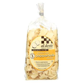 Al Dente - Pappardelle - Golden Egg - Case Of 6 - 12 Oz.