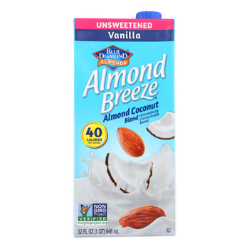 Almond Breeze - Almond Coconut Milk - Vanilla - Case Of 12 - 32 Fl Oz.