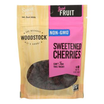 Woodstock Sweetened Cherries - Case Of 8 - 5 Oz