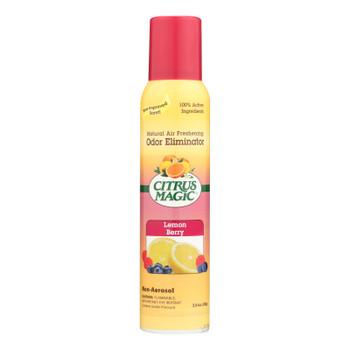 Citrus Magic Natural Odor Eliminating Air Freshener - Lemon Raspberry - 3.5 Fl Oz