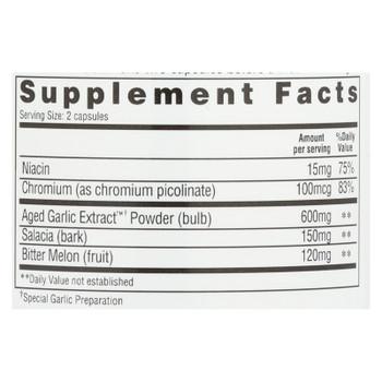 Kyolic - Aged Garlic Extract Blood Sugar Balance - 100 Capsules