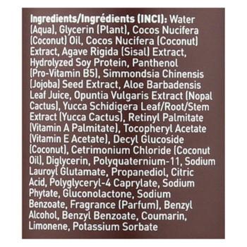 Desert Essence - Hair Defrizzer And Heat Protector Coconut - 8.5 Fl Oz