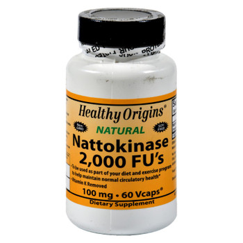 Healthy Origins Nattokinase 2000 Fus - 100 Mg - 60 Vcaps
