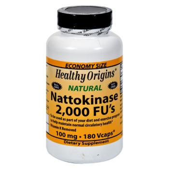 Healthy Origins Nattokinase 2000 Fus - 100 Mg - 180 Vcaps