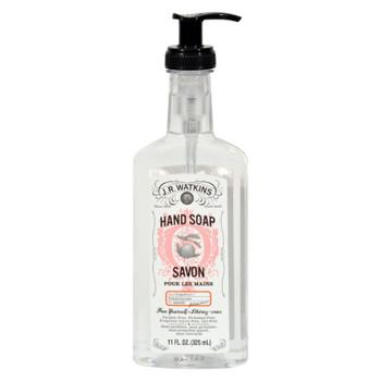 J.r. Watkins Liquid Hand Soap - Grapefruit - Case Of 6 - 11 Oz