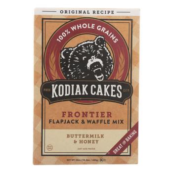 Kodiak Cakes Flapjack And Waffle Mix - Buttermilk And Honey - Case Of 6 - 24 Oz.