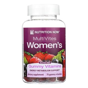 Nutrition Now Women's Gummy Vitamins Mixed Berry - 70 Gummies