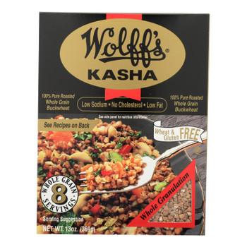 Wolff's Kasha Whole - Case Of 6 - 13 Oz.