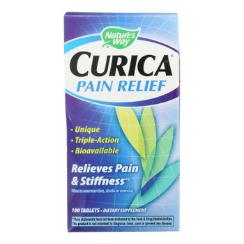 Nature's Way - Curica Pain Relief - 100 Tablets