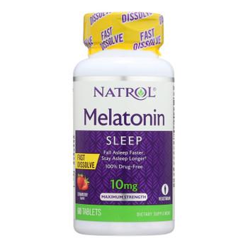 Natrol Melatonin - 10 Mg - 60 Tablets