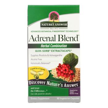Nature's Answer - Adrenal Stress Away - 90 Veggie Caps