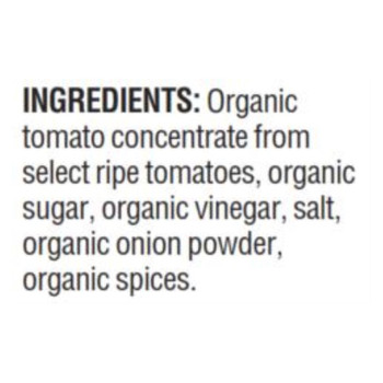 Woodstock Organic Tomato Ketchup - Case Of 12 - 32 Oz