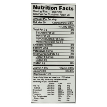 Nutiva Organic White Chia Seeds - 12 Oz