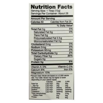 Nutiva Organic Milled Chia Seeds - 14 Oz