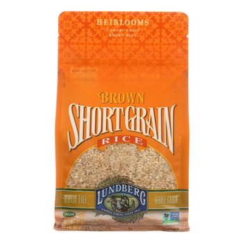 Lundberg Family Farms Short Grain Brown Rice - Case Of 6 - 2 Lb.
