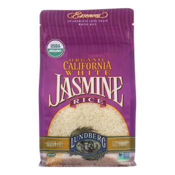 Lundberg Family Farms Organic California White Jasmine Rice - Case Of 6 - 2 Lb.