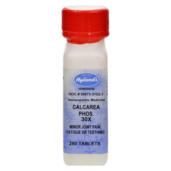 Hylands Homeopathic Calcarea Phos 30x - 250 Tablets