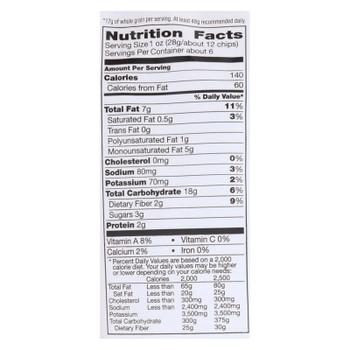 Food Should Taste Good Sweet Potato Tortilla Chips - Sweet Potato - Case Of 12 - 5.5 Oz.