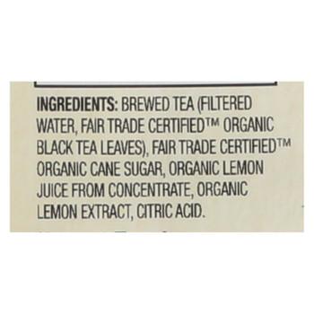 Honest Tea Tea - Organic - Lori's Lemon - Case Of 8 - 59 Fl Oz