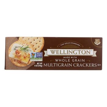 Wellington Cracker - Whole Grain - 7 Grain - Case Of 12 - 5 Oz