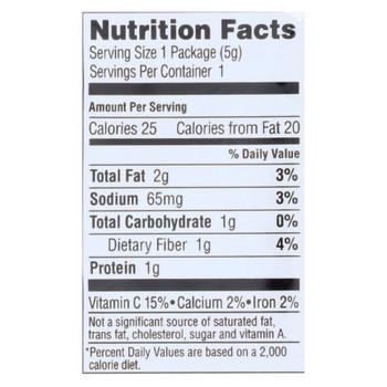 Gimme Organic Roasted Sesame - Case Of 12 - 0.17 Oz.