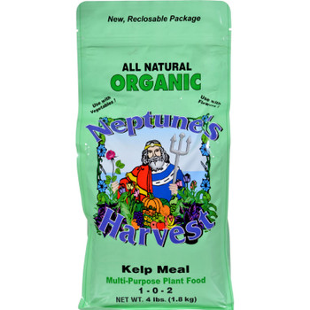 Neptune's Harvest Kelp Meal Fertilizer - Green Label - 4 Lb