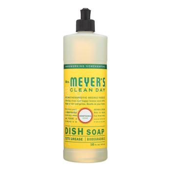 Mrs. Meyer's Clean Day - Liquid Dish Soap - Honeysuckle - 16 Oz