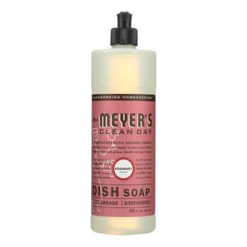 Mrs. Meyer's Clean Day - Liquid Dish Soap - Rosemary - 16 Oz