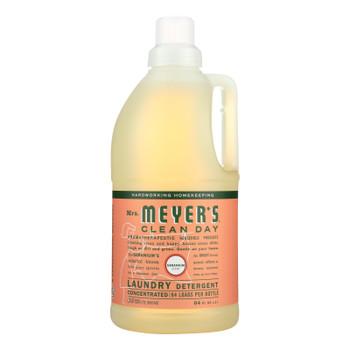 Mrs. Meyer's Clean Day - 2x Laundry Detergent - Geranium - 64 Oz